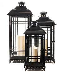 All-Weather Metal Flameless Candle Lantern