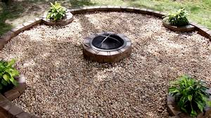 how to make outdoor fire pit area