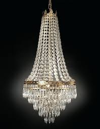crystal chandeliers interesting 4 empire style chandelier s by charlie pride chair