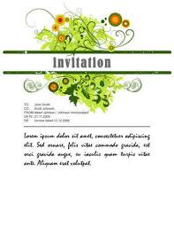 Basic Invitation Template 26 Free Printable Party Invitation Templates In Word