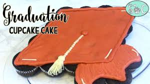 Graduation Cupcake Cake Sweetwater Cakes Youtube