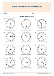 5th grade math worksheets telling time categories 5th grade 5th ...