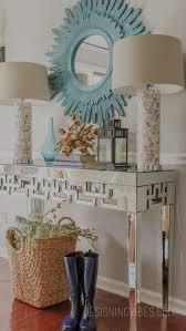 sofa table decor. Prepossessing In Interior Home White Coastal Sofa Table Console Ideas Decor O