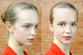 how to get steven alan s all natural beauty look how to get dewy skin and bitten lips