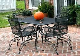 black mesh patio furniture white metal table wrought iron vintage outdoor m metal mesh outdoor furniture