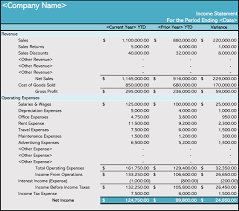 blank income statement how to prepare an income statement 5 free templates
