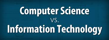 computer tech degree computer science vs information technology