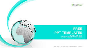 Powerpoint Circuit Theme Earth Printed Circuit Board Computer Ppt Templates