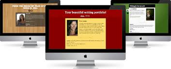 easy professional online writing portfolios writerfolio create a beautiful writing homepage