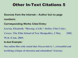 In Text Citation Mla Website Example Citing Web Sources In Essay How To Write Guide How To Cite Other