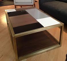 modern end tables. Custom Made Metal \u2013 Modern Coffee Table Base End Tables R