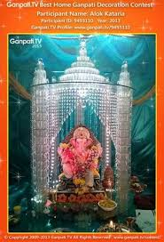 theme based 20 ganpati home decoration ideas part 2
