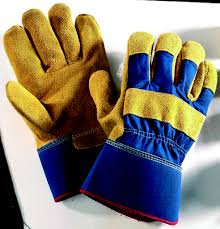 yellow rigger gloves