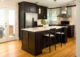 black and white kitchen backsplash ideas. White Kitchen Backsplash Ideas Three Dark Brown Wooden Chairs Tile Ceramic Black Bar Stool Metal Mini Pendant Lighting And H