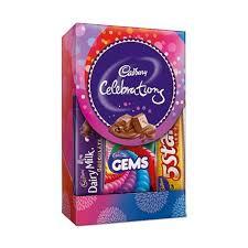dairy milk chocolate gift packs. Fine Packs Cadbury Celebration Assorted Chocolate Gift Pack 75 Gm And Dairy Milk Chocolate Packs O