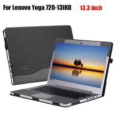 Lenovo Design Laptop Us 41 47 7 Off Creative Design Cover For Lenovo Yoga 720 720 13 13 3 Inch Protective Sleeve Pu Leather Laptop Case Stand Cover In Tablets E Books