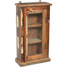 out of stock glass door rustic medicine cabinet canada