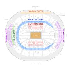 Bridgestone Arena Seating Chart Drake 18 Thorough Acc Floor Plan For Concerts
