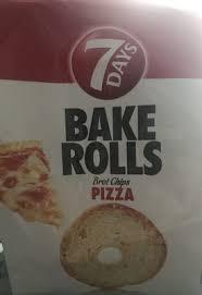 7 Days Bake Rolls Pizza
