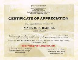 Certificate Of Appreciation Words Sample Certificate Of Appreciation To Parents New Template 18