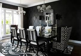 image of luxury striped dining chairs