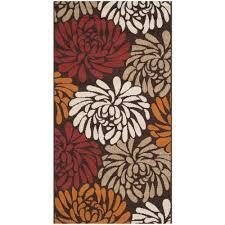 safavieh veranda chocolate indoor outdoor rug 2 7 x 5 rugs carpets best canada
