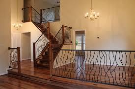 Wrought Iron Interior Railing Our Artisan Bent Design