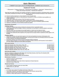 Template How To Write A Perfect Teaching Resume Examples Included