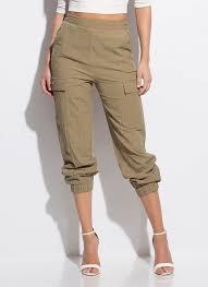 Its So Easy Cotton Cargo Joggers