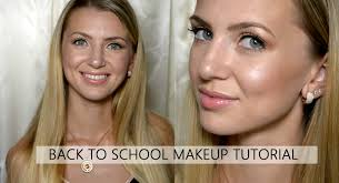 back to makeup tutorial for beginners snapshot000400back to shool eng