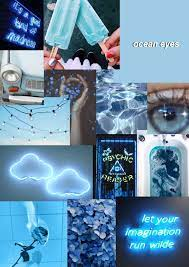 Wallpapers Blue aesthetic Color Blue ...