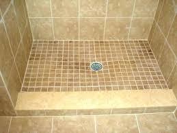 shower pan for tile custom tile shower pans borders for intended porcelain pan idea tile redi