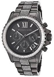 michael kors chronograph black watch for women michael kors chronograph black watch reg