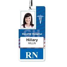 Nurses Name Badge Heyalexa