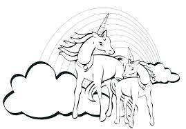 Coloring Pages Unicorns Magic Unicorn Coloring Pages Unicorn