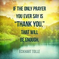 Quotes On Gratitude Extraordinary Eckhart Tolle Gratitude Quote Quote Number Picture Quotes Han Quotes