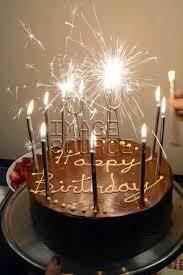 chocolate birthday cake with candles. Beautiful Chocolate Chocolate Birthday Cake With Sparklers And Candles For Birthday Cake With Candles