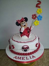 Coolest Homemade Minnie Mouse Cakes