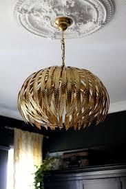 dar atticus gold glam light fixture in black bedroom see more on swoonworthy