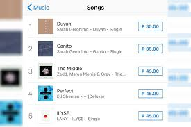 Itunes Philippines Album Chart Sarah Drops Duyan Tops Itunes Ph Chart Anew Times Of News