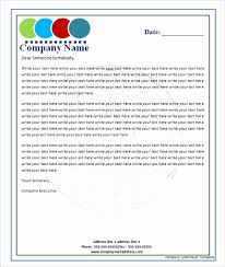 Free Microsoft Word Letterhead Templates Impressive Letterhead Format For Company In Word Sample Letterhead Template 48