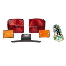 Trailer Side Marker Lights Towsmart 80 In Under Standard Trailer Light Kit With Side Marker Lights