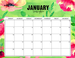 january 2018 calendar free free printable january 2018 calendar 12 awesome designs
