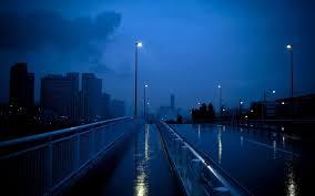 blue , aesthetic , alone , street ...