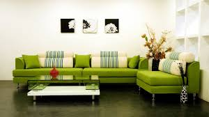 Lime Green Living Room Living Room Green Cool Modern Fabric Sectional Sleeper Sofa Nice