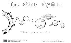 Solar System Coloring Pages Awesome Photos Solar System Colouring