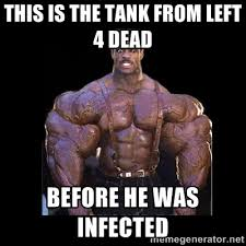this is the tank from left 4 dead before he was infected - Giga ... via Relatably.com