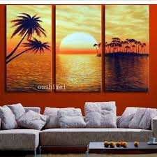wall art paintings for living roomhandmade 3p abstract on canvas oil painting for living room wall
