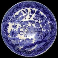 Blue And White China Pattern Unique Willow Pattern Wikipedia