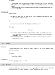 Chicago Citation Style Footnotes And Bibliography Pdf